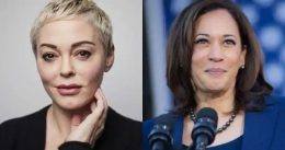 'This Is Obscene:' Rose McGowan Slams Kamala Harris Joining Bill Clinton for Event on Empowering Women