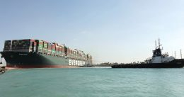 Massive ship Ever Given 're-floated' after blocking Suez Canal for six days