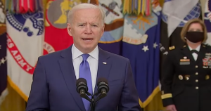 President Biden Celebrates International Women's Day by Forcing Girls to Share Bathrooms, Sports Teams, With Boys
