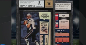 Tom Brady's Rookie Playing Card Sells For $1.32 Million