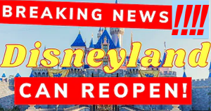 California to Allow Disneyland and Outdoor Sports Stadiums to Reopen Starting April 1