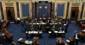 Senate Passes Biden's $1.9T COVID-19 Bill on Party-line Vote