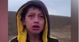 Heartbreaking: Abandoned 10-Year-Old Migrant Boy Found Sobbing in Texas Desert [VIDEO]