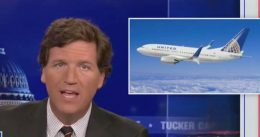 Tucker Carlson Lays Into United Airlines 'Equity' Policy: 'Only Diseased People Think Like This' [VIDEO]