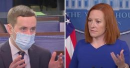 Psaki snaps when asked why VP Harris had time to visit Chicago bakery but not the border