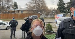 Pastor confronted by health inspector again, kicks out 'Gestapo' Calagary police from Canadian church