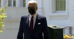 Biden Wears Mask To Tell Americans They Don't Have To [VIDEO]