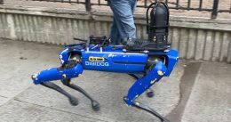 NYPD's robot dog will be returned after outrage