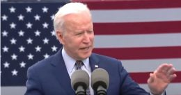 Protesters repeatedly interrupt Joe Biden at his car rally, and he tells them he agrees with their extreme cause: 'Give me another five days!'