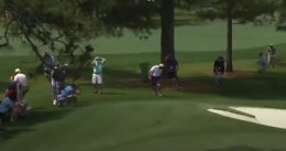 Watch: Rory McIlroy Nails Dad On Fly With Errant Shot at Masters 7th Hole