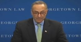 """Sen. Chuck Schumer: """"illegal immigration is wrong, plain and simple"""""""