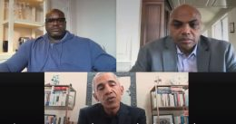 Shaquille O'Neal and Charles Barkley Team with Barack Obama to Promote COVID-19 Vaccines