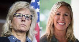 Sore Loser Liz Cheney Slams Marjorie Taylor Greene's 'Evil' Mask Comments