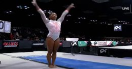 Incomparable Simone Biles Makes History by Landing Yurchenko Double Pike