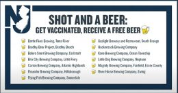 Free Beer With COVID Shot Program Boosts Vaccine Turnout In New York and New Jersey
