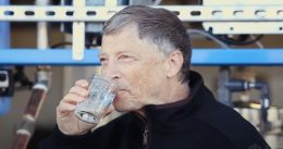 Bill Gates Drinks Water from Human Feces, Provides Insight Into the Bizarre World of Billionaires