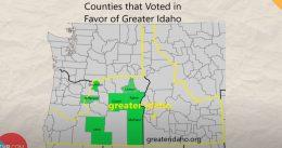 Several Oregon Counties Vote to Secede Into Idaho