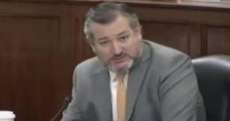 """Sen. Cruz: """"'The Corrupt Politicians Act' is an existential threat to our Democracy, will destroy America as we know it"""""""
