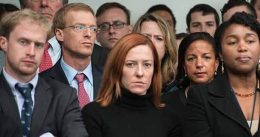 CNN notes that Vogue is back at the White House 'after a four-year hiatus' to photograph Jen Psaki