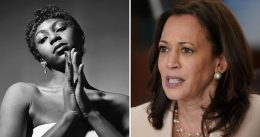 Nina Simone's granddaughter says Kamala Harris 'bullied' her mother into near suicide and left her estate in 'SHAMBLES'
