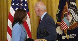 WATCH: Kamala Harris Appears To Have To Remind Joe Biden To Talk About Florida Building Collapse