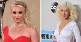 Christina Aguilera slams 'unacceptable' treatment of Britney Spears