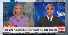 CNN's Dana Bash Asks Biden's Surgeon General: Do You Think Fox News Is Killing People with Anti-Vax Rhetoric? [VIDEO]