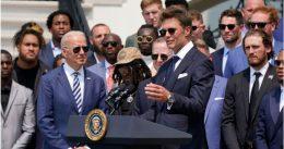 Tom Brady Trolls Trump At Biden White House Meeting