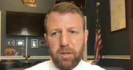 """GOP Rep. Mullin Hugged Lt. Byrd After He Shot Unarmed Ashli Babbitt In Cold Blood: """"Sir, You Did What You Had to Do"""" [VIDEO]"""