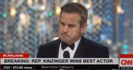Super sensitive Rep Adam Kinzinger calls Laura Ingraham's mockery a 'cold-hearted thing'