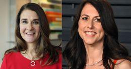 Melinda French Gates and Mackenzie Scott team up for $40M donation