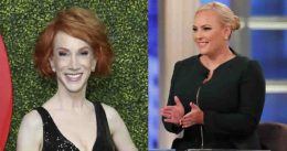 'I'm Never Going To Like Her': Meghan McCain Accuses Kathy Griffin Of Bullying Following Comedian's Cancer Diagnosis