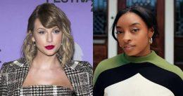 Taylor Swift and Simone Biles exchange heartfelt tweets celebrating Olympian's return