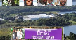 """Celebs Descend On Obama's HUGE 'Scaled Back' Birthday Party: """"Just imagine if this party was for Trump,"""""""
