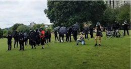 Antifa attacks families at Christian prayer event in Portland park [VIDEO]