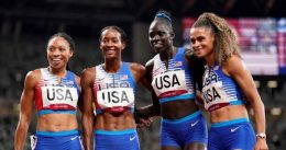 Team USA Wraps Up Tokyo Games In A Flurry Of Red, White & Blue — And Gold, Silver & Bronze