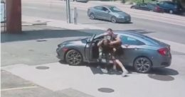 Carjacker tries to take UFC fighter Jordan Williams' car — and pays for his mistake [VIDEO]