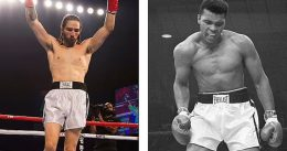 Muhammad Ali's grandson, Nico Ali Walsh, wins on his professional boxing debut with first-round KO