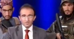 Afghan TV Show Host Surrounded By Taliban With Guns Tells Public Not To Be Afraid And Cooperate