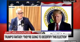 CNN Anchor Has Meltdown After Trump Talks About Decertifying Election