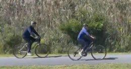 Joe Biden Enjoys A Bike Ride By The Beach While Southern Border Disintegrates