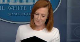 SHAMBLES! Jen Psaki Blames Boris Johnson for Oval Office Chaos [VIDEO]