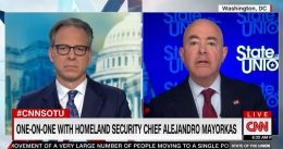 """""""Patently False"""" – CNN's Jake Tapper Blasts Biden Admin For Lying About Mounted Border Patrol Agents [VIDEO]"""