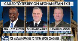 """Gen. McKenzie, Gen. Milley Contradict Biden: """"I recommended we keep 2,500 troops in Afghanistan."""""""