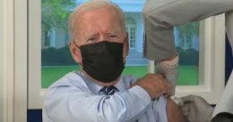 What Is Going On? Biden Takes Booster Shot on the Production Set of His Fake White House