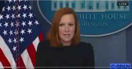 Disgusting Liar Jen Psaki Blames Trump for Joe Biden's COVID Failures and Lack of Leadership (VIDEO)