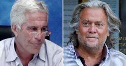 Jeffrey Epstein Makes Stunning Claim During Interview With Steve Bannon